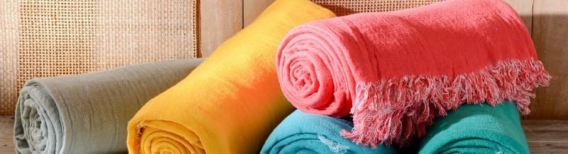 plaids et couvertures